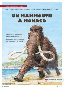 Affiche mammouth A4-bd